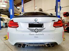NEW CS STYLE CARBON FIBER REAR SPOILER FOR BMW 2 Series F22 & M2 F87 Competition