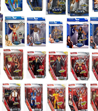 WWE Elite,Basic,Defining Moments Mattel Action Figures- New and Pre owned
