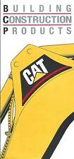 Equipment Brochure Caterpillar Building Construction Products E5030