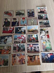 1986 job lot 25 Panini MASK stickers 7 FOIL STICKERS