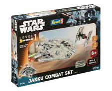 REVELL 06758 StarWars JAKKU COMBAT SET 2 Models Level1 Scala 1:51/1:164