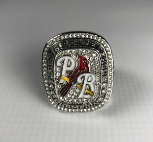 2017 Florida State League Champions Palm Beach Cardinals SGA Championship Ring