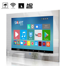 Haocrown Touch Screen 22 inch Bathroom Smart Mirror TV Android 10.0 System IP66