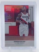 2017-18 Panini Status - Materials NBA Patch Blazers #M-DLL Damian Lillard