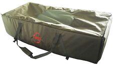 Green Carp Fishing Unhooking Soft Mat Cradle Safeguard Protection Foldable
