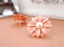 LOVELY DAISY FLOWER PEARL ORNAMENT   EAR STUD EARRING FASHION JEWELLRY