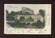 Germany NURNBERG Nuremberg Burg von Westen Used 1903 u/b PPC