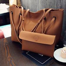 Women PU Leather Tote Purse Handbag Shoulder Messenger Bag Crossbody Satchel HOT