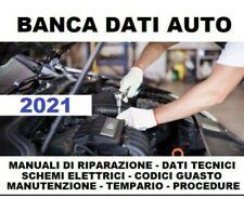 BANCA DATI 2021 Auto database manuali tecnici riparazione + catalogo + DATASPIN