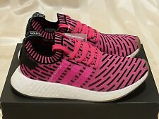 ADIDAS Boost NMD _ R2 PK Primeknit 'Shock Pink' (Size 8.5US) New air ultra max
