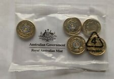 2019 $2 Dollar Coloured Coins POLICE REMEMBRANCE - Mint  SACHET/ Bag OF 5 Coins