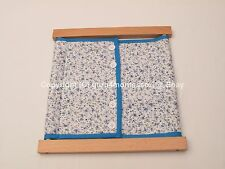 NEW Montessori Practical Life Material - Beechwood 5 Buttons Dressing Frame