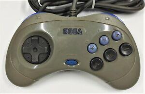 Genuine Grey Sega Controller Game Pad for Sega Saturn TESTED