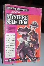 Mystère-Magazine 23 Nouvelles policières et Mystérieuses série 14 OPTA 1952