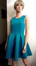 NWT ASOS S 6 Turquoise Blue Sleeveless Party Club Cocktail Dress Mini