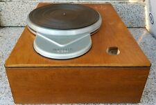 Vintage Rek O Kut K-33H Turntable Record Player Acousti-Crafts Wooden Plinth