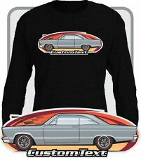 Custom Art long sleeve T-Shirt 1966 67 Fairlane 500 GT GTA not affiliated w ford
