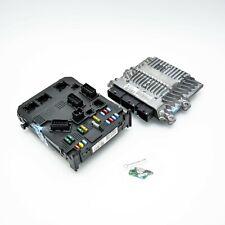 ECU Engine Control Unit Ignition Kit Peugeot 407 2004 5WS40264C 5WS40264C-T