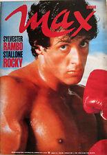 MAX 1 1986 Sylvester Stallone Dolph Lundgren Springsteen Riccardo Muti Ramba