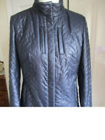Paola ladies quilted jacket, new with tags, size 40 (UK12), deep mauve