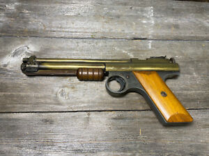 Vintage Benjamin Franklin Model 112 Air Pistol  Brass Works
