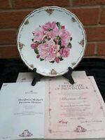 """Royal Albert Collectors  Plate """" Albertine Rose"""", Boxed"""