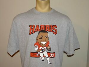 Signed Autographed Andrew Harris BC Lions CFL football gray t-shirt size XXL