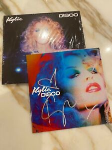 KYLIE MINOGUE - DISCO SIGNED AUTOGRAPHED BOOKLET + CD RARE SOLD OUT
