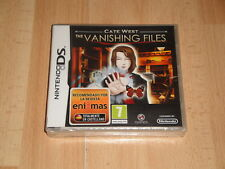 CATE WEST THE VANISHING FILES NTR-CWFP-EUU PARA LA NINTENDO DS NUEVO PRECINTADO