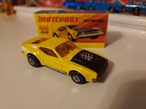 Matchbox - #44 Boss Mustang