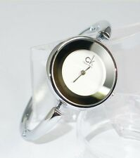 SALE! NEW WOMEN'S ELEGANT BANGLE BRACELET WATCH WITH BOX (SILVERTONE)