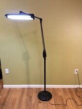 Vintage Walters Electric Industrial Shop Floor Lamp Cast Iron Floating Light