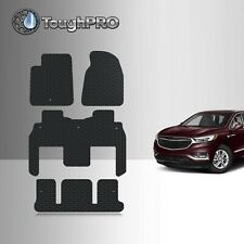 ToughPro Floor Mats + 3rd Row Black For Chevrolet Traverse Bucket 2009-2017 (Fits: Chevrolet)