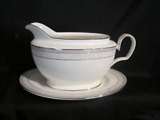 Noritake CIRQUE 9319 - Gravy Boat and Stand - BRAND NEW