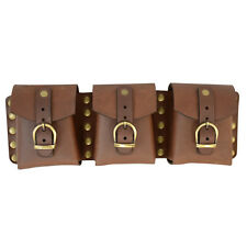 Steampunk Leather Utility Belt Pouch. Medieval,COSPLAY,LARP, Renaissance