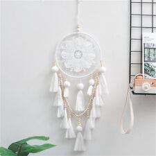 Indian Bohemia Style Dream Catcher White Feathers Dream Catcher Home Decor Gift