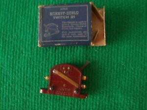 Hornby Dublo D1 switch- boxed - tested working.