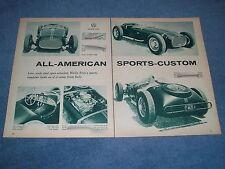 "1960 Vintage Article on a Custom Street Roadster ""All-American Sports-Custom"""