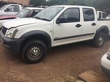 HOLDEN RODEO RA 2wd DUAL CAB V6 AUTO UTE  07/2004 S/N 7252