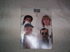Cheap Trick One on One songbook piano vocal guitar chords 1982 CBS Screen Gems