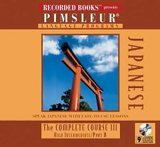 Japanese: The Complete Course III, High Intermediate, Part B  - Audiobook