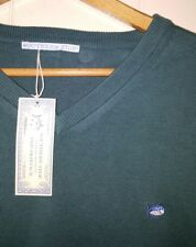 Southern Tide Shirt V-Neck Sweater Men's XL NEW Money Green