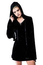 KILLSTAR VELVET WITCH HOOD DRESS  Brand New  Size XL  Gothic Goth Vamp