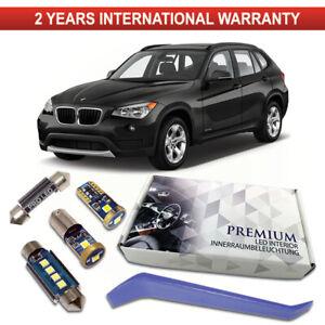 BMW X1 E84 LED Interior Kit Premium 13 SMD White Bulbs Error Free Canbus F48