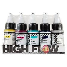 Golden High Flow Acrylic Ink / Paint 10 x 30ml Drawing Set