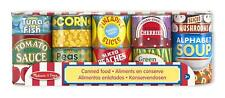 MELISSA AND DOUG CANNED FOOD SET PRETEND KITCHEN PLAY BRAND NEW