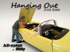 """HANGING OUT"" BILLY FIGURE FOR 1:18 SCALE MODELS BY AMERICAN DIORAMA 23858"