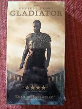 BRAND NEW FACTORY SEALED Gladiator (VHS, 2000) RUSSELL CROWE JOAQUIN PHOENIX