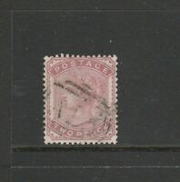 Malta, GB Used in, 18802d Deep Rose, A25 cancel, SG Z94