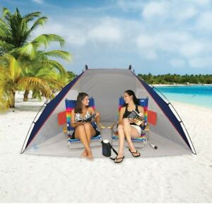 Beach Tent Portable Sun Shade Pool Camping Fishing Uv Protection Quick Shelter